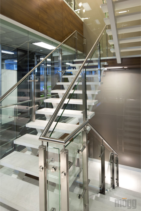 Stainless Steel and Glass Railings System