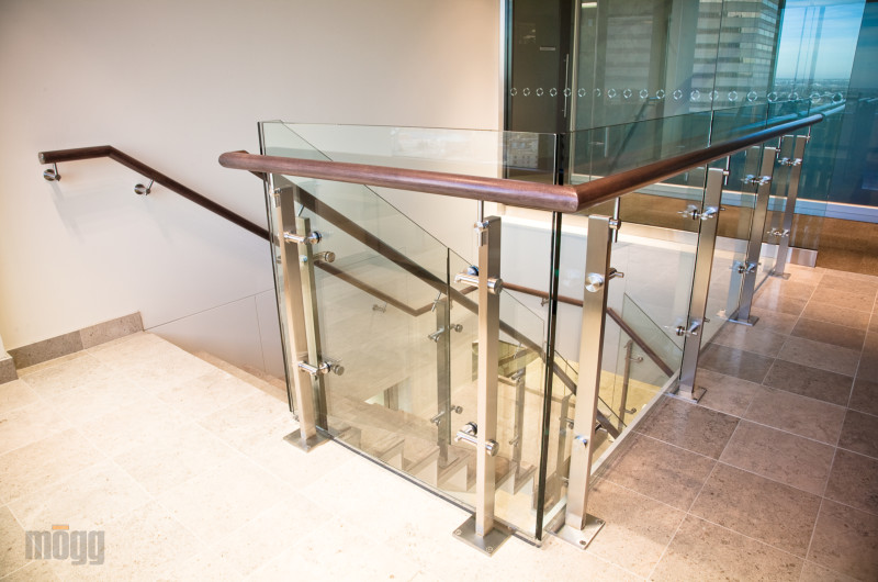 Stainless steel and glass railing -ZeTera