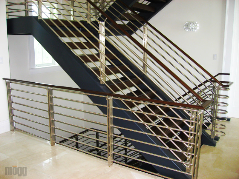 ZeX Bar unicue bar system - stainless steel railing